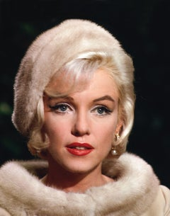 MARILYN MONROE COLOR HEADSHOT BY LAWRENCE SCHILLER, 32/75