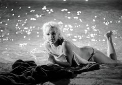 Marilyn Monroe Photograph Lying Poolside by Lawrence Schiller, 32
