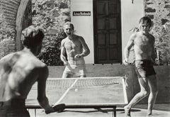 Paul Newman and Robert Redford, Ping-Pong, 1968