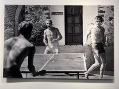 Paul Newman and Robert Redford, Playing Ping-Pong