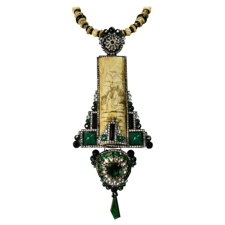 Lawrence VRBA Jewelleryfor Chloé Couture Run Way Circa 2000/2001 For Sale