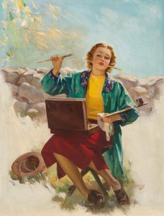 The Artist, This Week Magazine Cover, 1937