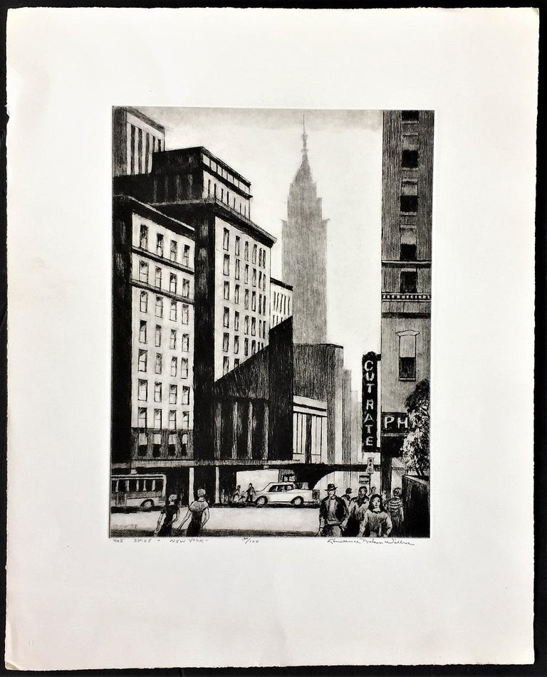 The Spire -- New York - Print by Lawrence Wilbur
