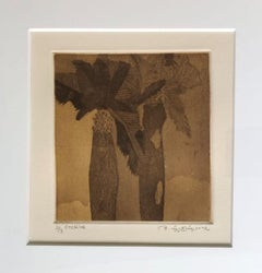 """Untitled, Etching on Paper (Set of 2 works) Modern Indian Artist """"In Stock"""""""