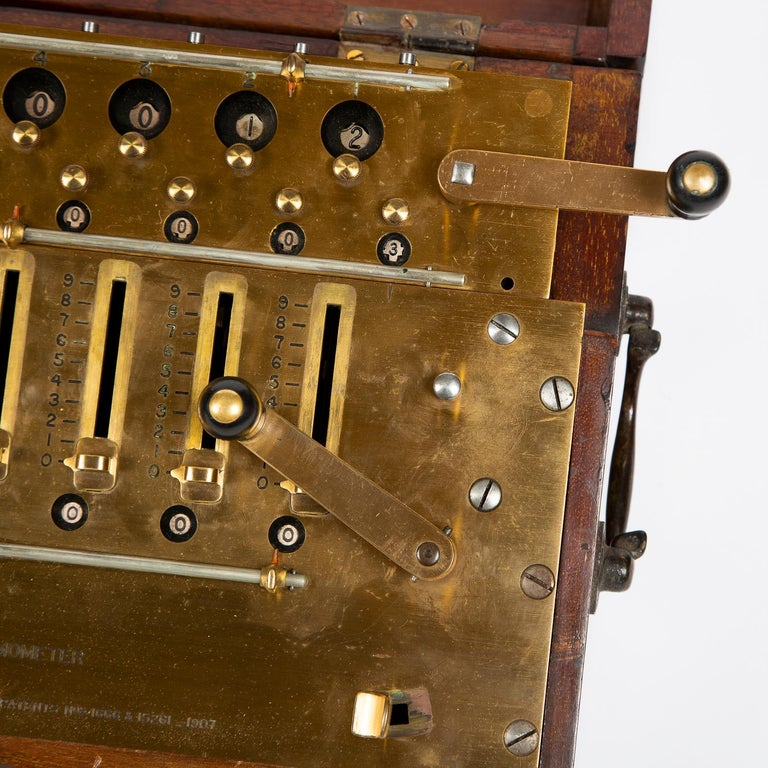 Layton's Improved Arithmometer, Dated 1912 For Sale 4