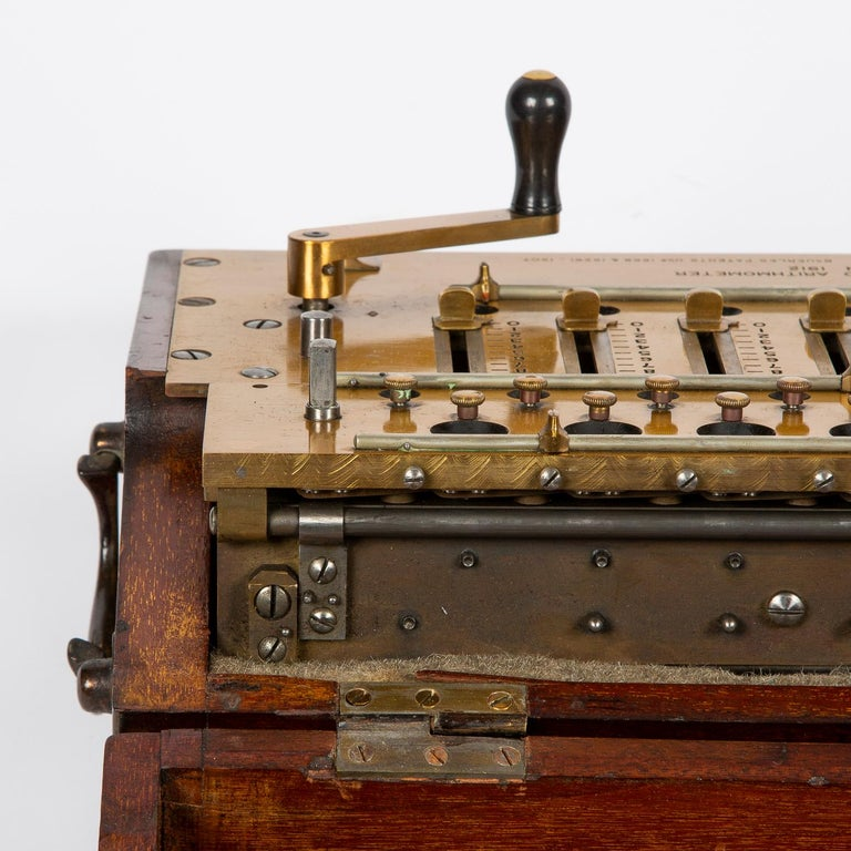 Layton's Improved Arithmometer, Dated 1912 For Sale 9