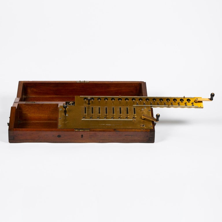 Layton's Improved Arithmometer, Dated 1912 In Good Condition For Sale In London, GB