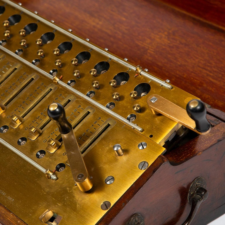Layton's Improved Arithmometer, Dated 1912 For Sale 3