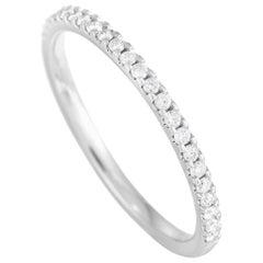 LB Exclusive 14 Karat White Gold 0.22 Carat Diamond Ring