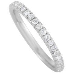 LB Exclusive 14 Karat White Gold 0.30 Carat Diamond Ring