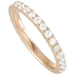 LB Exclusive 14 Karat Yellow Gold 1.03 Carat Diamond Ring