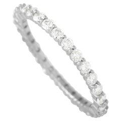 LB Exclusive 14K White Gold 0.95 Ct Diamond Eternity Ring