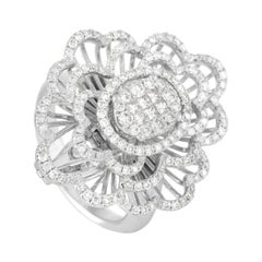 LB Exclusive 18k White Gold 1.20 Ct Diamond Ring