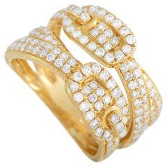 LB Exclusive 18K Yellow Gold 1.00 ct Diamond Ring