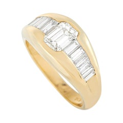 LB Exclusive 18k Yellow Gold 1.90 Ct Diamond Ring