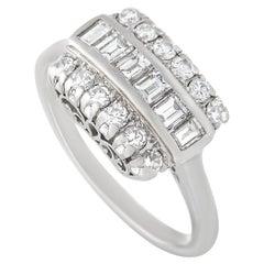 LB Exclusive Platinum 0.40 Ct Diamond Ring