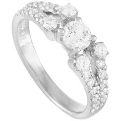 LB Exclusive Platinum 0.85 Carat Diamond Ring