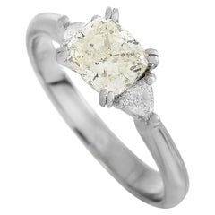LB Exclusive Platinum 1.14 Carat Diamond Ring