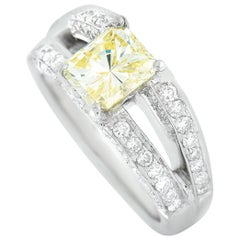 LB Exclusive Platinum 2.56 Carat Diamond Ring
