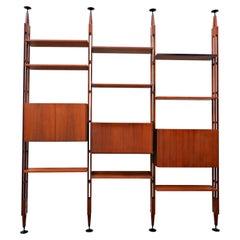 """""""Lb7"""" Bookcase by Franco Albini for Poggi, 1950s"""