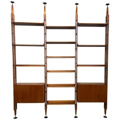 """Lb7"" Bookcase by Franco Albini for Poggi"