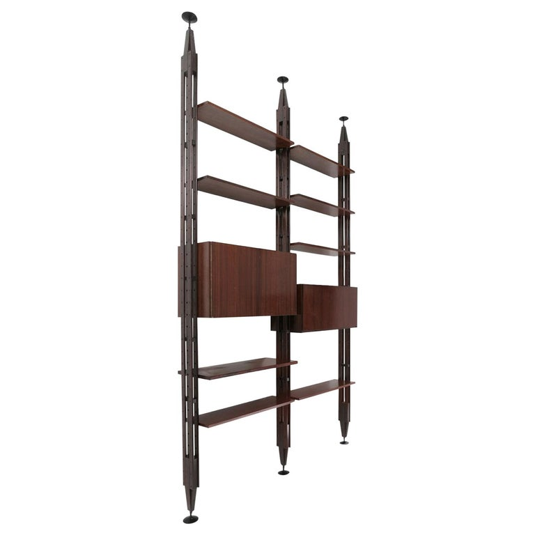 """Lb7"" Bookcase by Franco Albini for Poggi 1"
