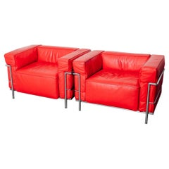 LC3 Club Chairs for Cassina