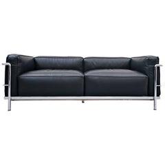 LC3 Sofa, Le Grand Confort, Le Corbusier for Cassina