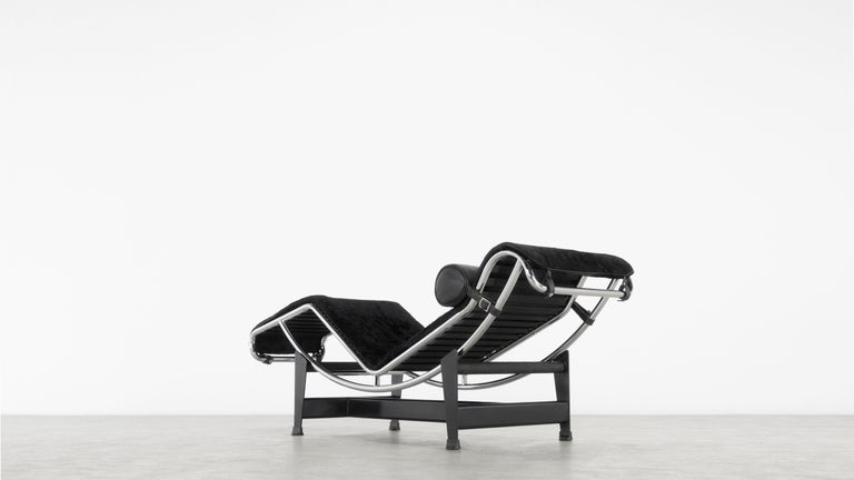 LC4 Black Pony Chaise by Le Corbusier for Cassina, 'Italy' 3