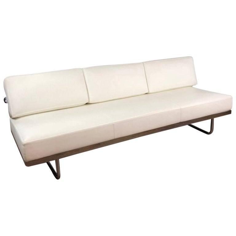 lc5 leather sofa day bed by cassina for sale at 1stdibs