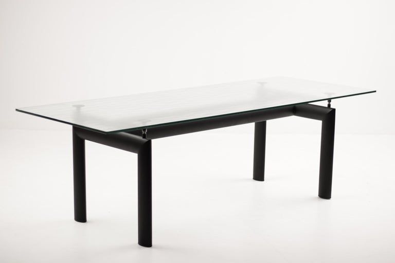Late 20th Century LC6 Table by Le Corbusier, Jeanneret and Perriand for Cassina For Sale