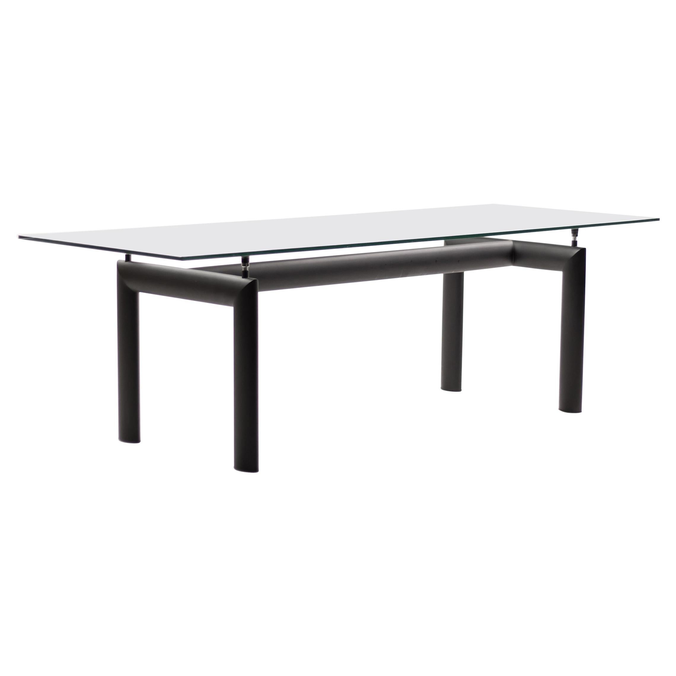 LC6 Table by Le Corbusier, Jeanneret and Perriand for Cassina