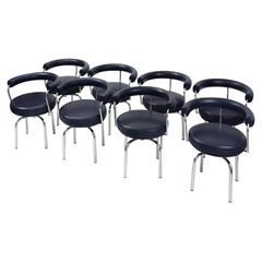LC7 Chairs by Charlotte Perriand for Cassina, 2000s