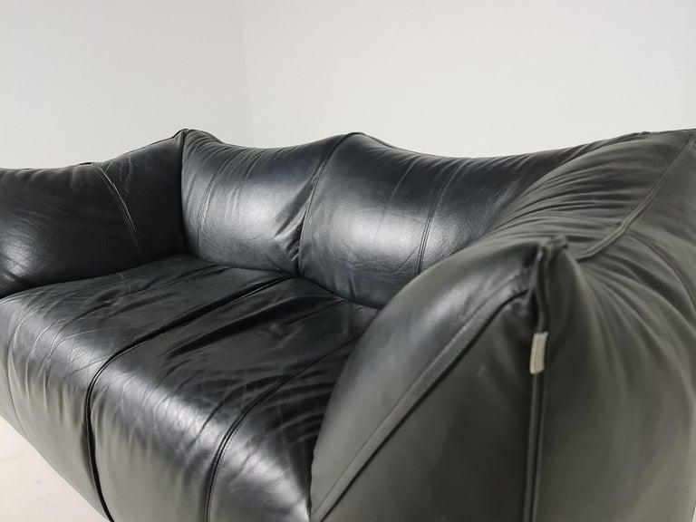 Italian Le Bambole 2-Seater Sofa by Mario Bellini for B&B Italia, 1970s For Sale
