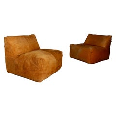 Le Bambole Pair of Armchairs, Mario Bellini B&B Italia, 1972