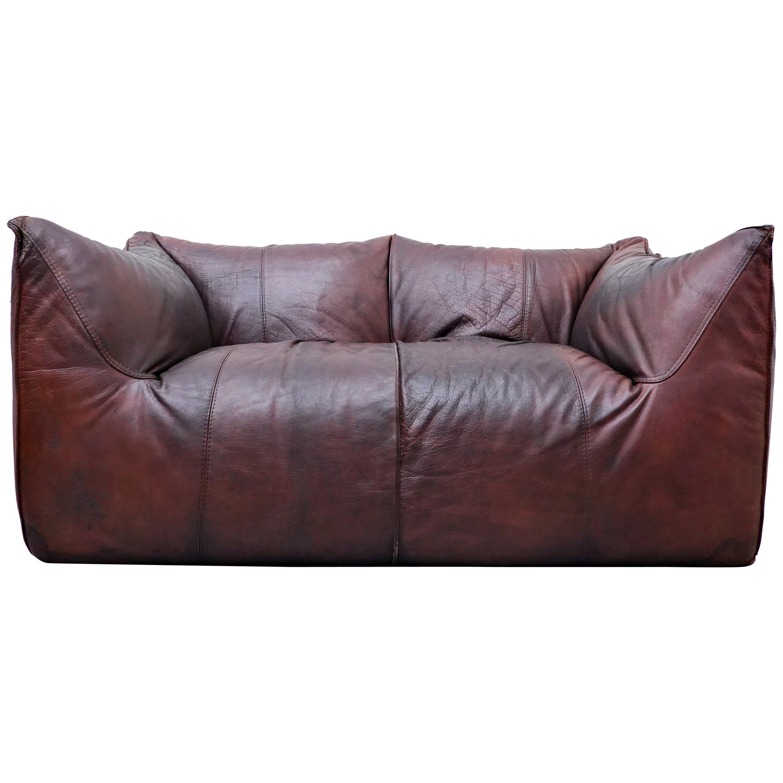 Le Bambole Leather Sofa by Mario Bellini for B&B Italia, 1970s