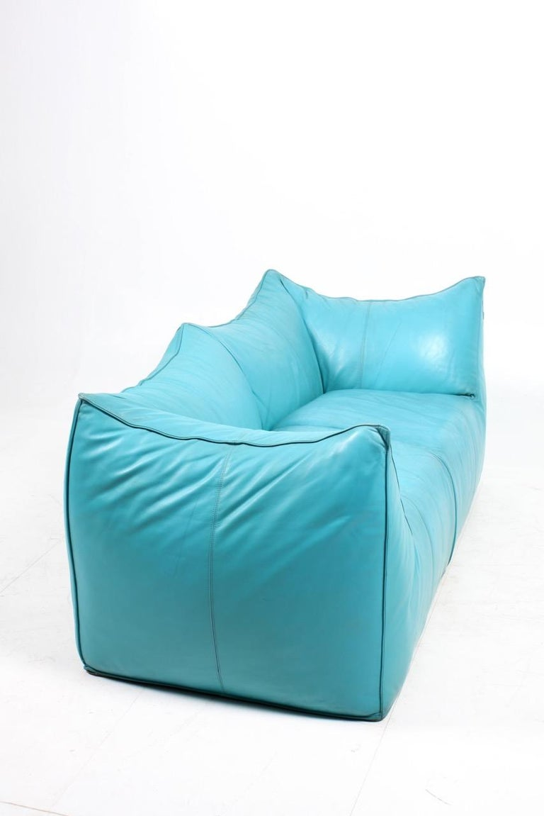 Leather Le Bambole Sofa by Mario Bellini For Sale