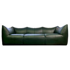 Le Bambole Sofa Design Mario Bellini for B&B Italia 1980s New Leather Cover