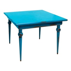 Le Bolle Blue Square Table