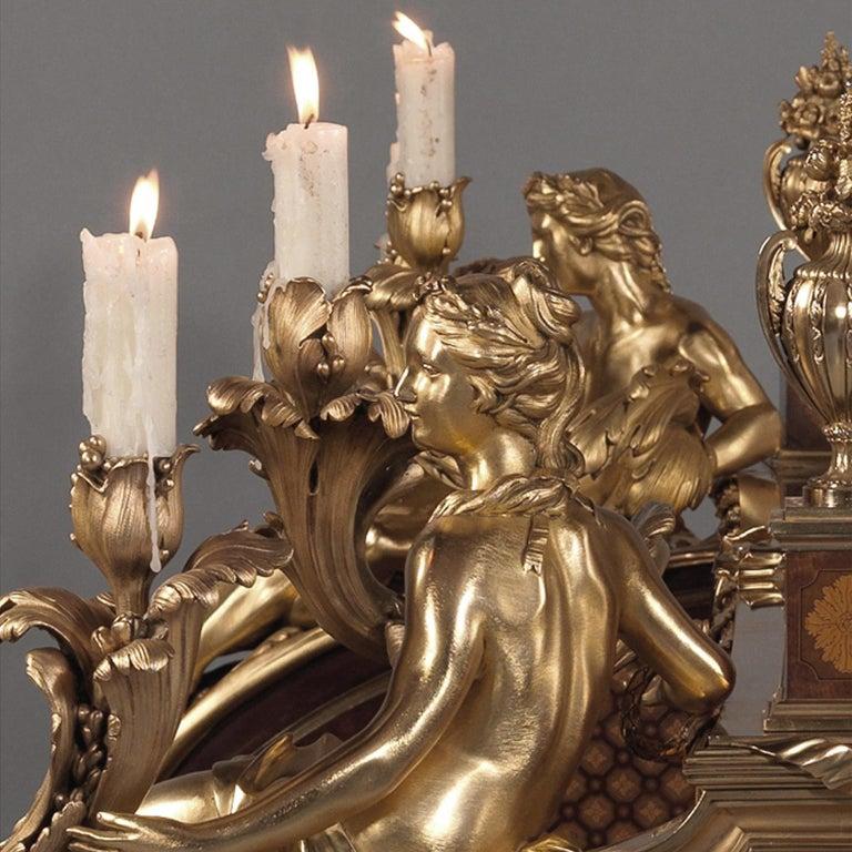 Bronze 'Le Bureau Du Roi', a Secrétaire à Cylindre by François Linke, circa 1922 For Sale