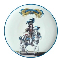 Le Carousel Porcelain Plate Made in Italy