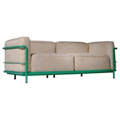 Le Cobursier LC3, Two-Seat Sofa for Cassina