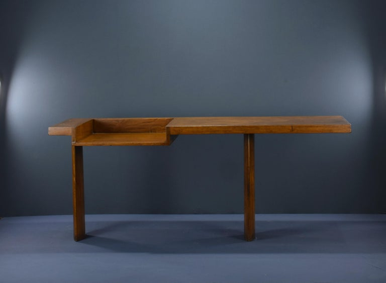 Le Corbusier Ahmedabad Console Desk Authentic Mid-Century Modern LC-AH-16-A In Good Condition For Sale In Dietikon, CH