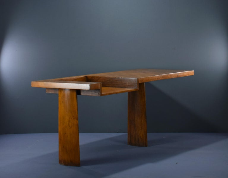 20th Century Le Corbusier Ahmedabad Console Desk Authentic Mid-Century Modern LC-AH-16-A For Sale