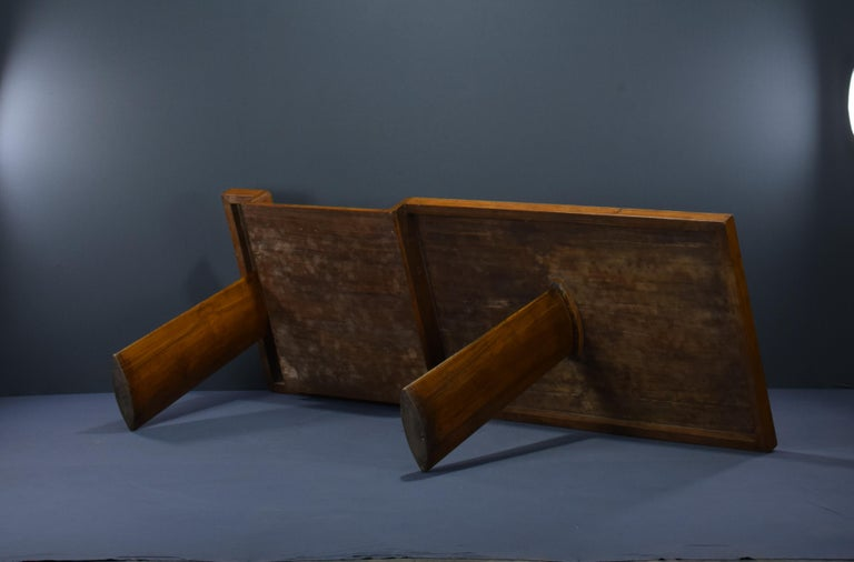Le Corbusier Ahmedabad Console Desk Authentic Mid-Century Modern LC-AH-16-A For Sale 1
