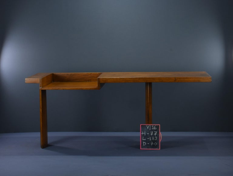 Le Corbusier Ahmedabad Console Desk Authentic Mid-Century Modern LC-AH-16-A For Sale 2