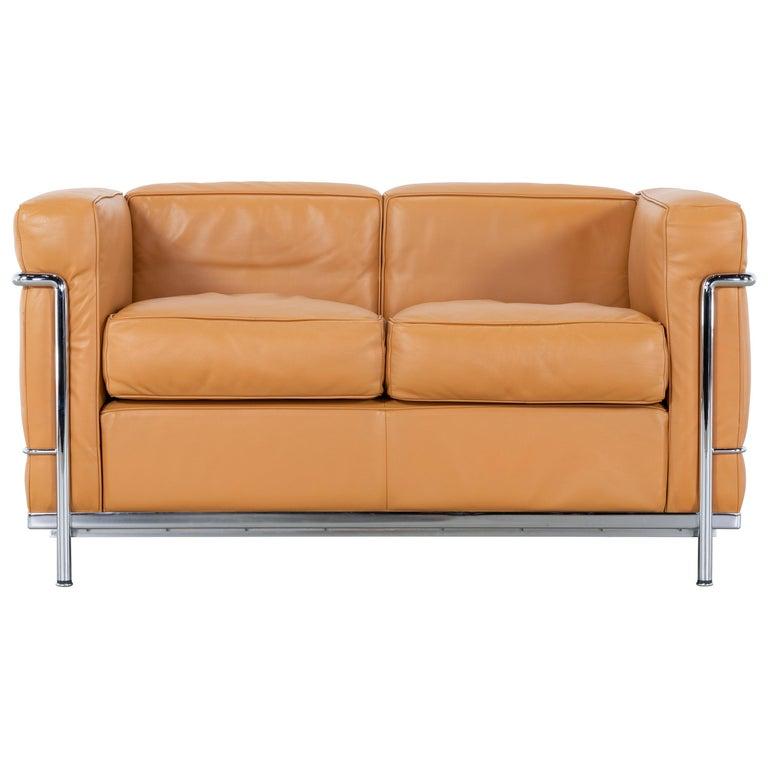 Le Corbusier Ch Perriand Lc2 Sofa