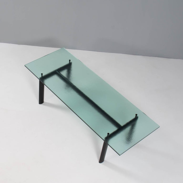 Le Corbusier, Charlotte Perriand & Pierre Jeanerret for Cassina LC6 Dining Table In Good Condition For Sale In London, GB