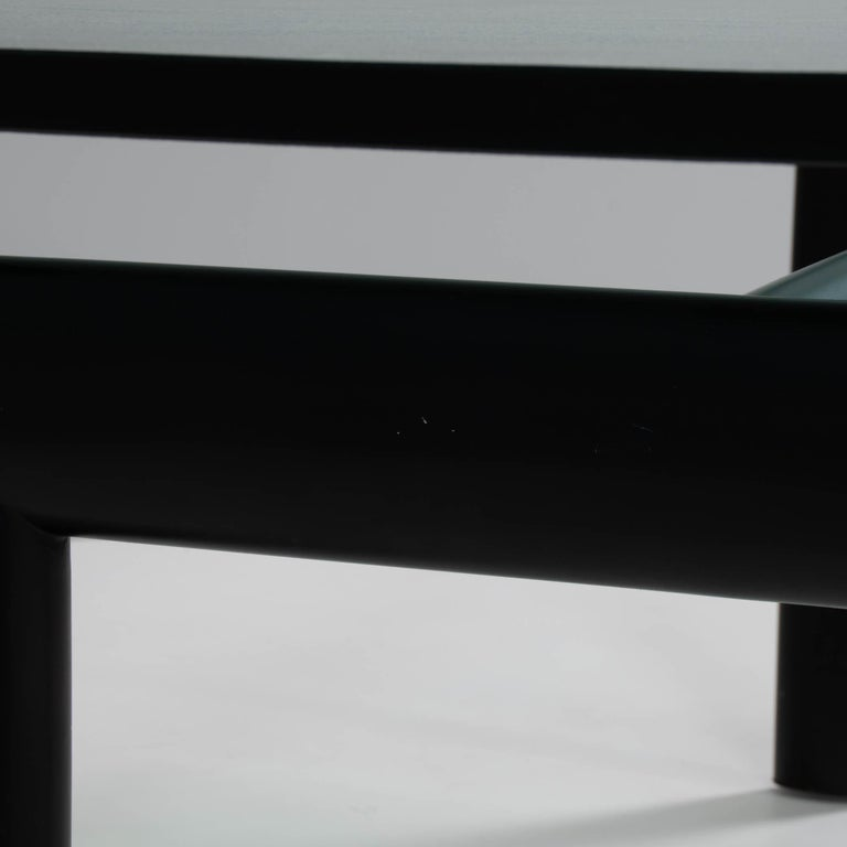Le Corbusier, Charlotte Perriand & Pierre Jeanerret for Cassina LC6 Dining Table For Sale 3