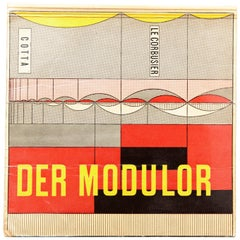 Le Corbusier Der Modulor Book, 1956